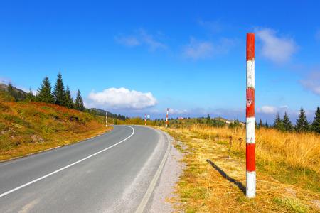 balkans: Open road in mountains. Balkans. Spine Kopaonik.
