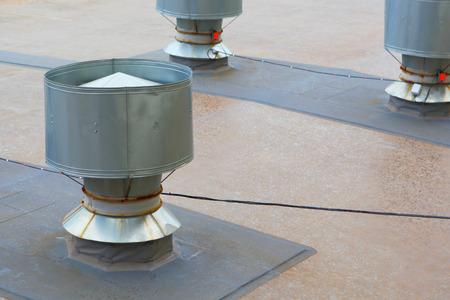 industrial: Industrial pipe.Ventilation of industrial premises.