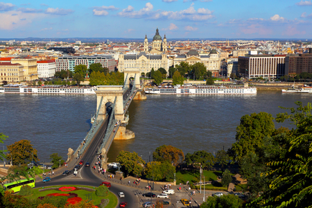 Budapest.Hungary.Tourist look.