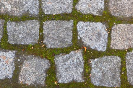pavers: Old bricks.Background of stones.