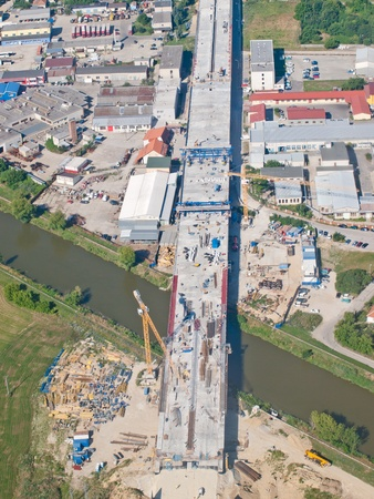 Highway under construction in the Industrial Zone photo