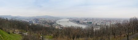 Panorama of Budapest the Hungarian capital city photo