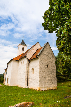 Restored late-Romanesque Slavonic church - Slovak significant cultural monument