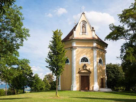 Christian chapel of Saint Anthony in Moravia region Stock Photo