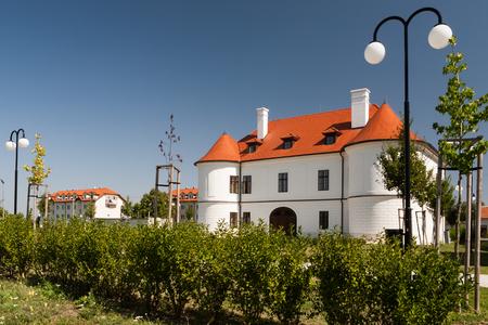 Historisches Herrenhaus der Ghyczy im Dorf Nove Sady Slowakei