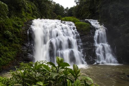 Abbey falls in the coorg region of Karnataka India Stock Photo - 99795778