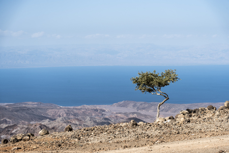 A view of the Gulf of Tadjoura from Arta, Djibouti, East Africa