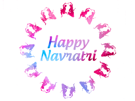 Happy Navratri (Indian Hindu Festival) Greetings