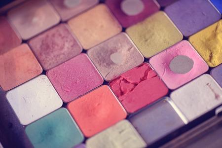 pallette: make-up pallette Stock Photo