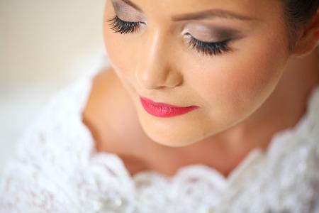 delicate: Delicate portrait of a bride