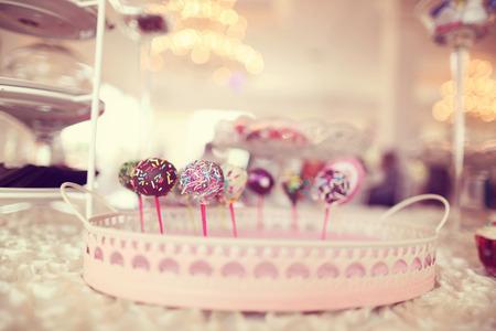 cake pops: Delicious cake pops