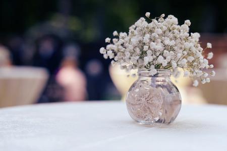 Schleierkraut Bouquet Lizenzfreie Bilder