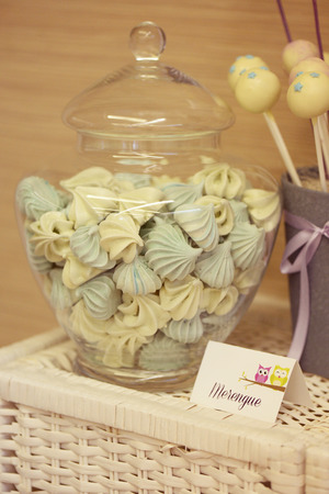 glans: Cake pops and meringue