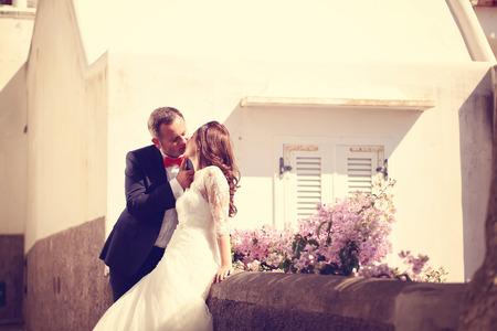 lovely: Lovely bride and groom