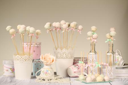 ケーキの pop 写真素材