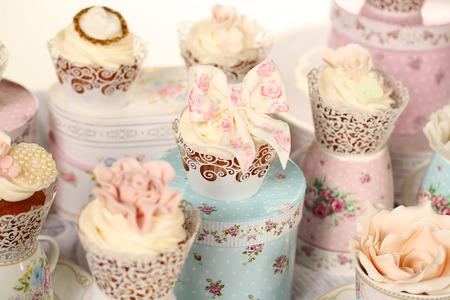 Kleine Kuchen Lizenzfreie Bilder