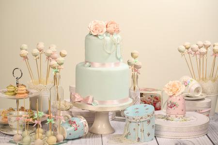 desserts: Candy bar Stock Photo