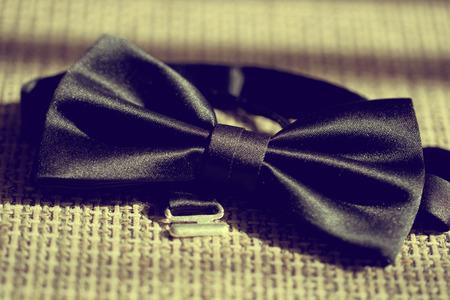 wedding parade: Elegant bow tie for the groom