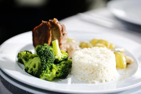 comida gourmet: Delicious gourmet food Foto de archivo