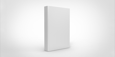 white Book cover isolated on plain background Фото со стока - 47782257