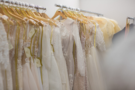 Wedding Dress Preservation and Standard Dry Cleaning Stock fotó - 118167057