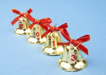 2013 Christmas bells Stock Photo - 16241139