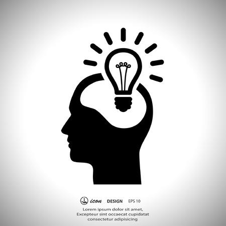 電球のコンセプトの絵文字