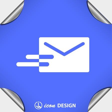 pictograph: Pittogramma di posta elettronica