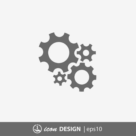 pictograph: Pictograph of gears
