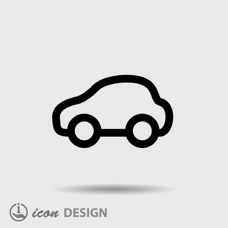 pictograph: Pictograph of car
