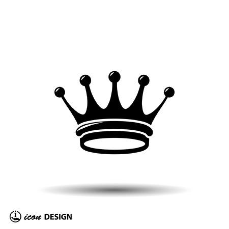 Pictogramme de la couronne