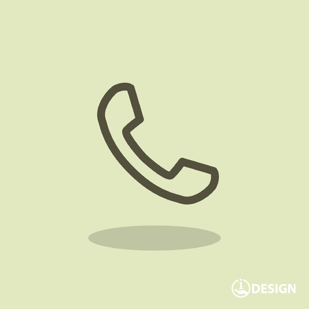 pictograph: Pictograph of phone