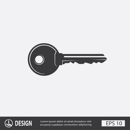 Pictogramme de la clé