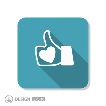 Pictograph of like