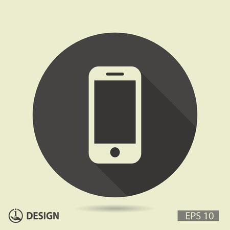 Pictogramme de la téléphonie mobile Illustration