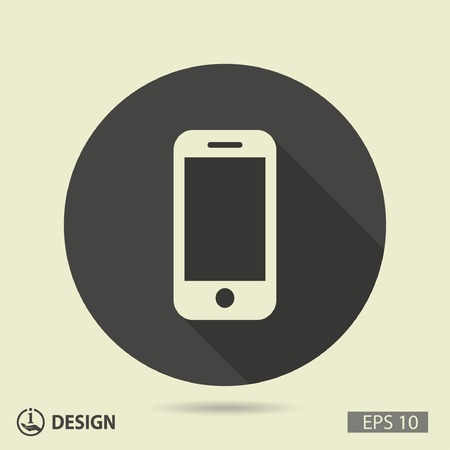 wireless icon: Pictograph of mobile
