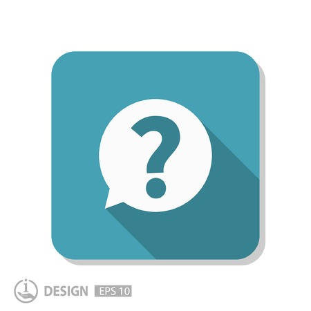 Pictograph of question mark