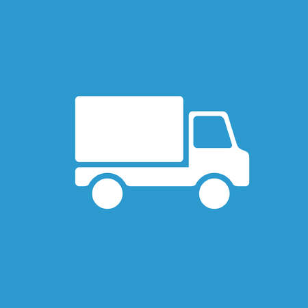 delivery truck: Pictograph of truck