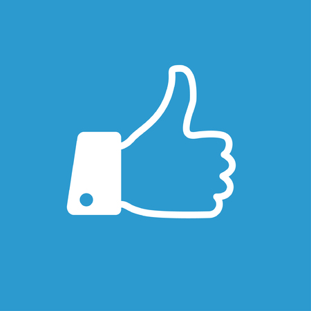 thumb up: Pictograph of like
