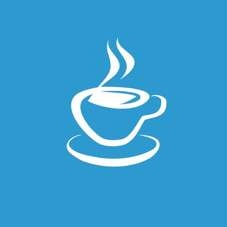 tea drinking: Pictograph of cup Illustration