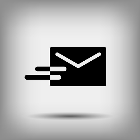 email envelope: Pictograph of mail Illustration