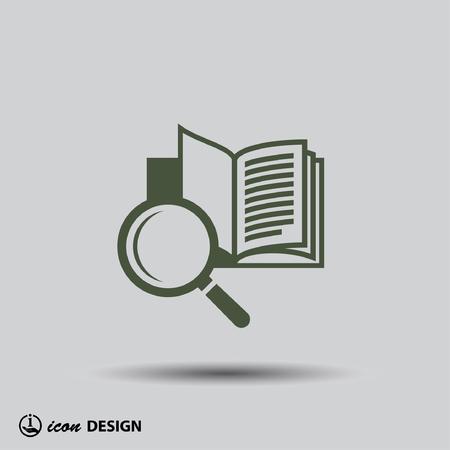 Beeldschriftteken van boek