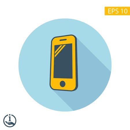 Piktogramm von Mobil Standard-Bild - 47011449