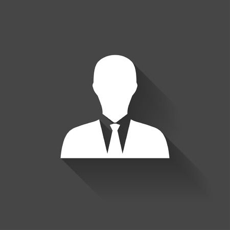 businessman suit: Pictograph of businessman