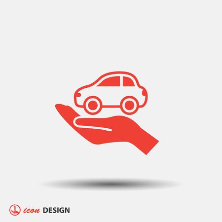 Pictogramme de voiture