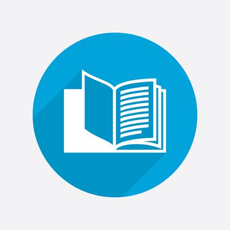 aprendizaje: Pictograma del libro