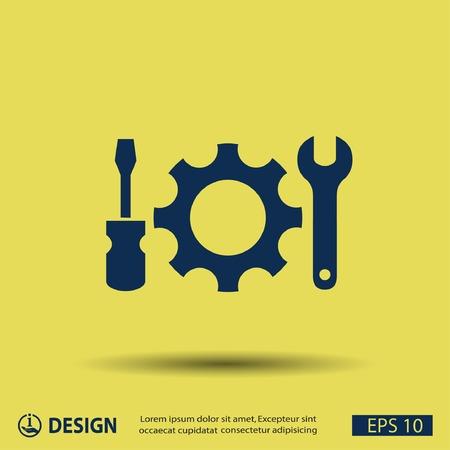 ingenieria industrial: Pictograma de artes