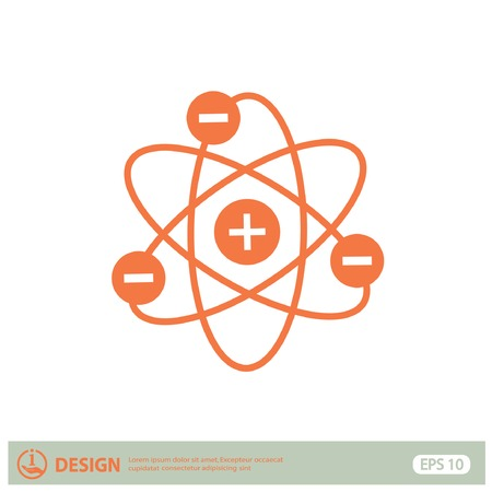 physical chemistry: Pictograph of atom