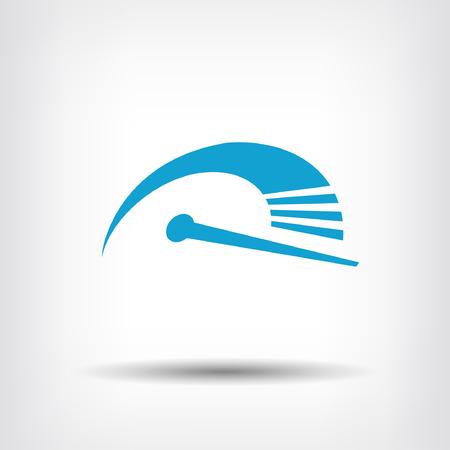 Pictogramme de vitesse Illustration