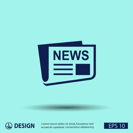 communication icon: News icon